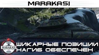 Шикарные позиции, нагиб всех врагов обеспечен World of Tanks