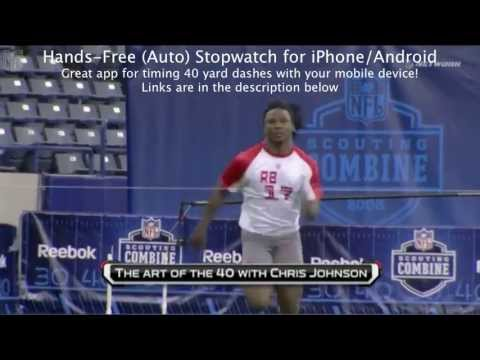 Chris Johnson 40 Yard Dash +2 Different Angles