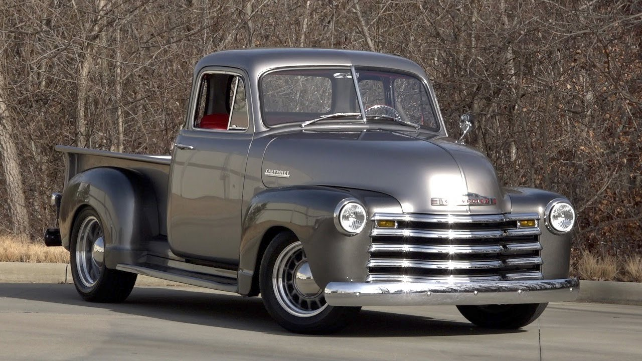 1955 chevy pu wiring 1952 chevy 3100 1952 chevrolet 3100 sold / 136137 - youtube