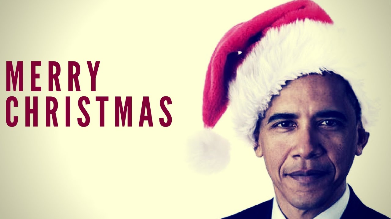 Obama - Merry Christmas - YouTube