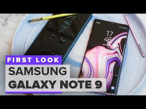 Galaxy Note 9 hands-on