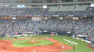 2013.5.12 オリックスVS日本ハム 京セラドーム 登場曲:Rain Over Me.
