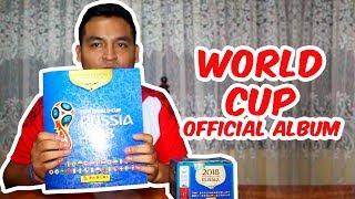 World Cup's official album // Album Oficial del Mundial