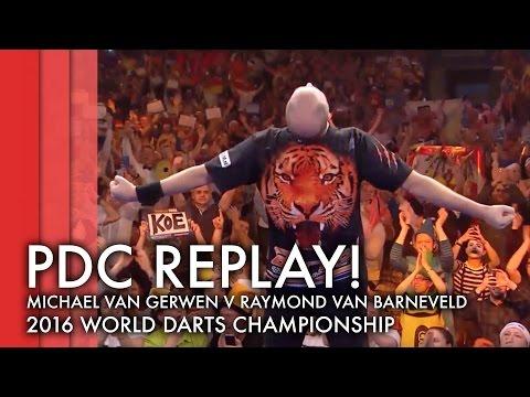 PDC Replay | Michael van Gerwen v Raymond van Barneveld - 2015/16 World Darts Championship