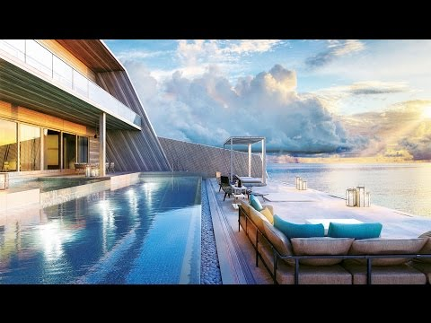 Largest overwater villa in the Maldives ($25,000 a night)