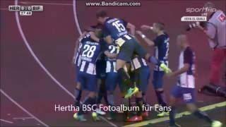 Hertha BSC vs Bröndby 1:0 Tor (28. Min) Ibisevic Traumtor