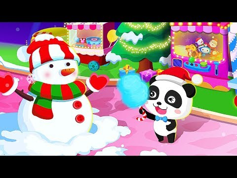 baby panda christmas carnival game merry christmas games for children - Merry Christmas Games