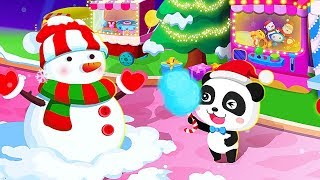 Baby Panda Christmas Carnival Game - Merry Christmas Games For Children