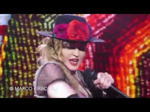 "MADONNA: ""Into the groove / Lucky star / Dress you up"" live in Italy"