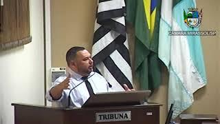 21ª Sessão Ordinária - Vereador Walmir Chaveiro