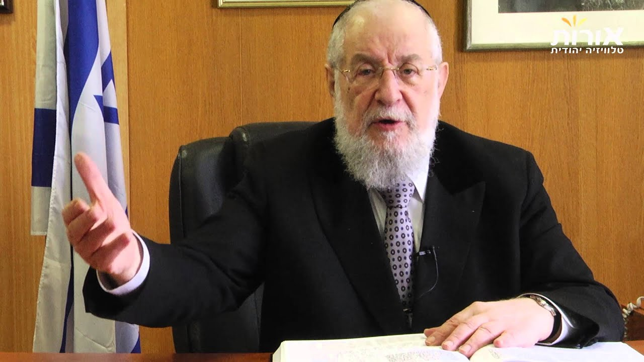 Torah - before anything else. Rabbi Lau on Parashat Vayakhel