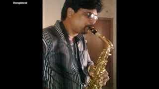 tere bina zindagi se - instrumental saxophone