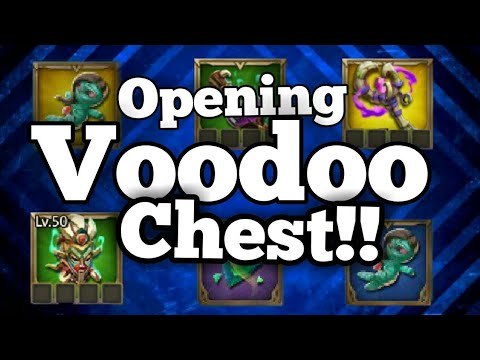 Lords-Mobile | OPEING THE NEW VOODOO CHEST! (And Making New Gear)