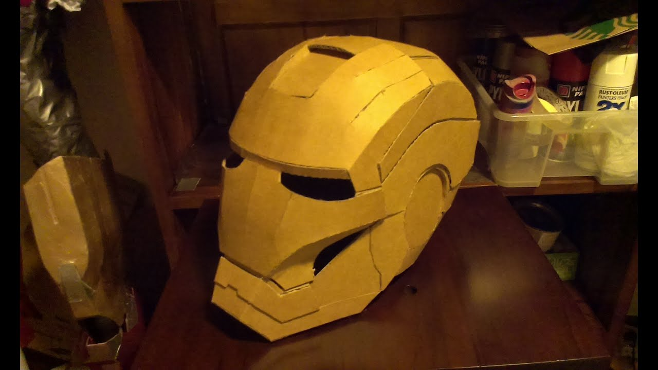 Iron man helmet build part 1 youtube pronofoot35fo Gallery