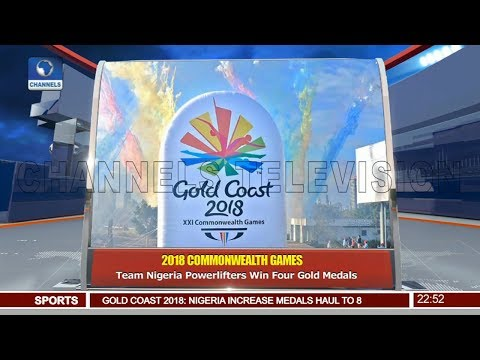 Gold Coast: Team Nigeria Power-lifters Win Four Gold Medal 10/04/18 Pt.4 |News@10|