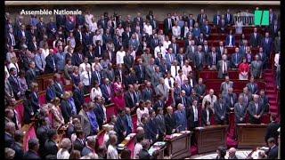 Video Émotion à l'Assemblée, pendant l'hommage à Corinne Erhel download MP3, 3GP, MP4, WEBM, AVI, FLV November 2017
