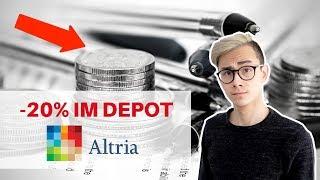 Altria ⛔20% im Depot - Nachkauf regelt 🚬📈 | Sparkojote