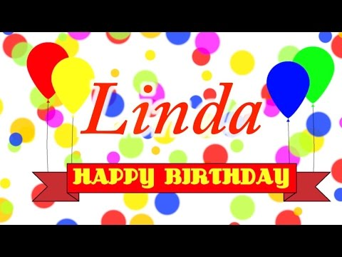 Happy Birthday Linda Song
