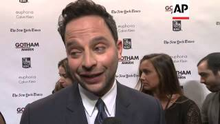 Amy Seimetz, Oscar Isaac, Nick Kroll and Melonie Diaz attended the Gotham Independent Film Awards ea
