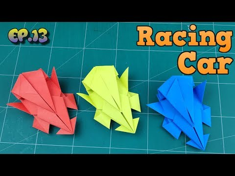 How To Make Easy Car Paper Model | Origami Car Way | DIY Paper Crafts Videos Tutorial Ep.13