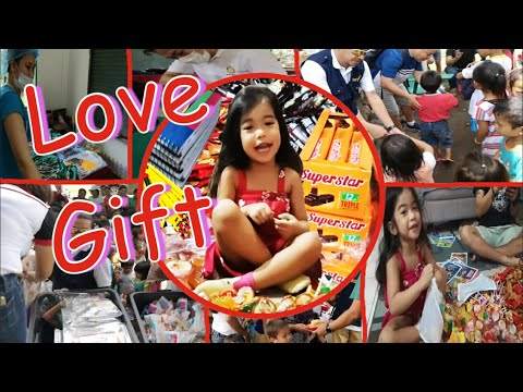 Sia Pretend Play Packing Gift | Rotary Club Uptown CDO | School Supply & Gift Giving for Children