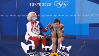 ИСТЕРИКА АРИНЫ АВЕРИНОЙ на Олимпиаде 2020 Реакция российской спортсменки на оценки судей