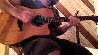"""Reprise """"La seine"""" / """"M & Vanessa Paradis"""" - Instrumental guitar cover"""