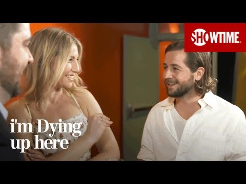 Ari Graynor & Michael Angarano on Busting Balls  I'm Dying Up Here  Season 1