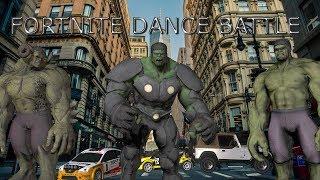 fortnite dance challenge incredible hulk