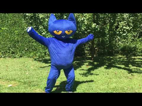 Pete the Cat | I Love My White shoes live Character