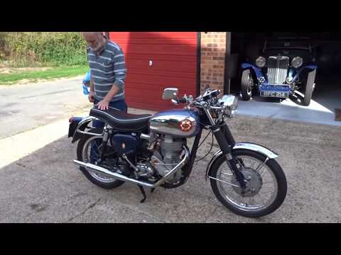 BSA Gold Star DBD34 1959