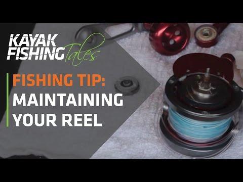 Kayak Fishing Tip | How to  Maintain Your Fishing Reel