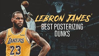 LeBron James' Unbelievable Posterizing Dunks