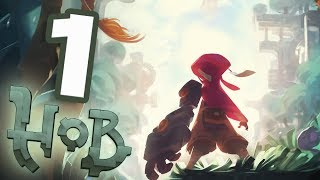 Hob Walkthrough Part 1 Lending a Hand! (PS4 Pro Gameplay)