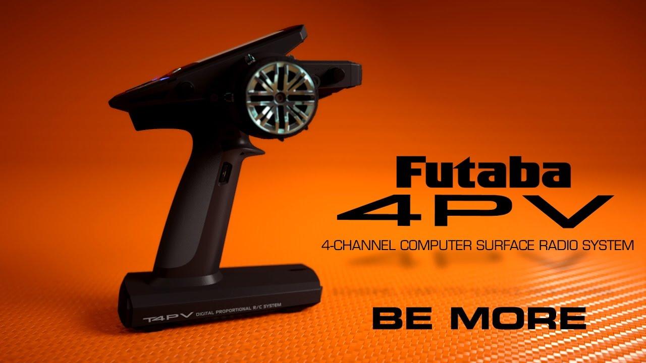 Futaba 4PV 4-Channel T-FHSS, S-FHSS Radio System