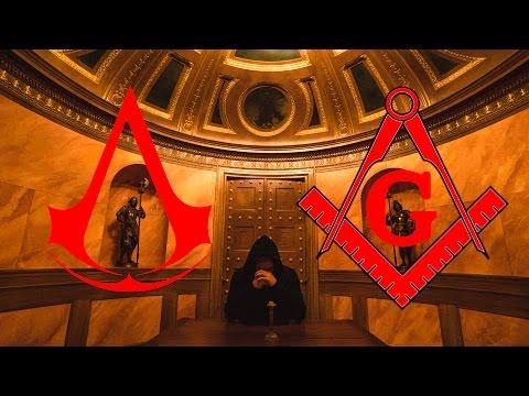 SECRET TEMPLAR ROOM - (FREEMASONS + ASSASSINS CREED)