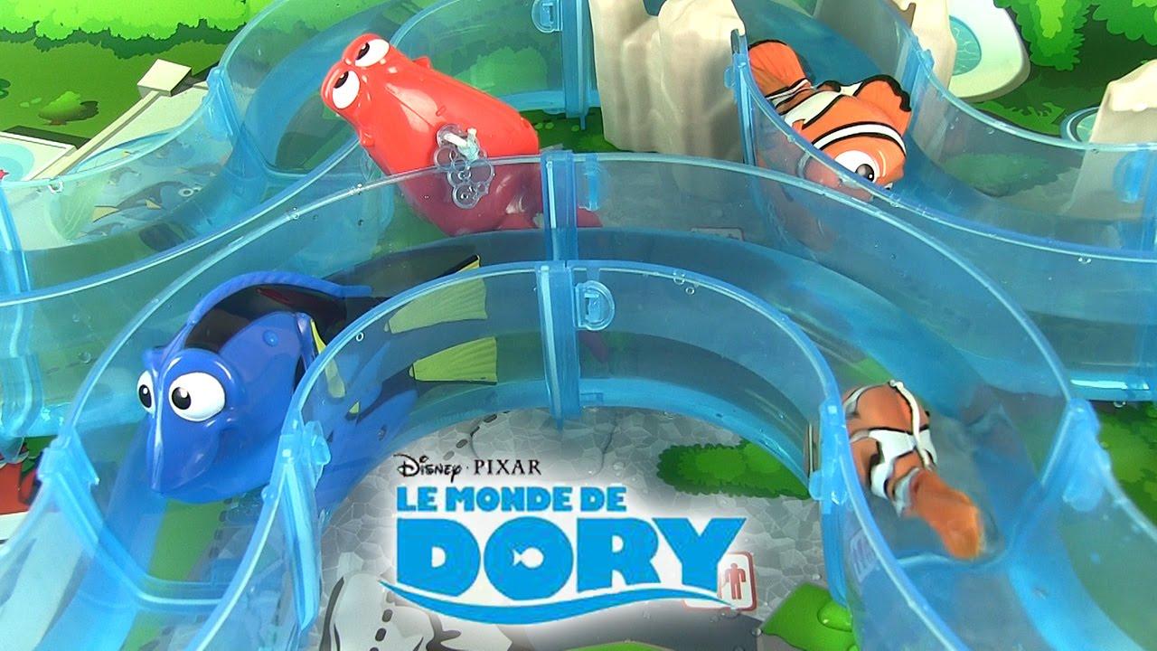 Download Le Monde de Dory Parcours Aquatique Nemo Finding Dory Marine Life Institute Playset