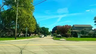 Driving to Detroit from Saint Clair Shores along Jefferson Avenue