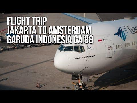 Flight Trip Jakarta to Amsterdam | Garuda Indonesia