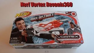 ~Unboxing~ Nerf Vortex Revonix360 Unboxing Video! ~Unboxing~