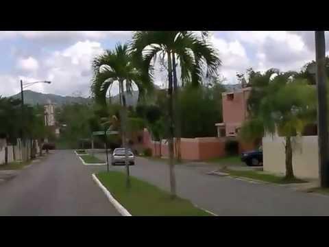 Caguas & Gurabo Puerto Rico: mountainside neighborhood