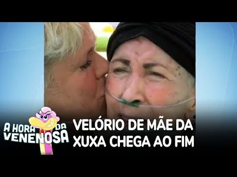 Chega ao fim velório da mãe de Xuxa Meneghel