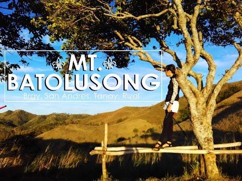 MT. BATOLUSONG (Tanay, Rizal)