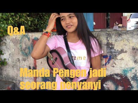 Q&A BERSAMA MANDA PENGAMEN MASUK HITAM PUTIH YANG VIRAL!!!!