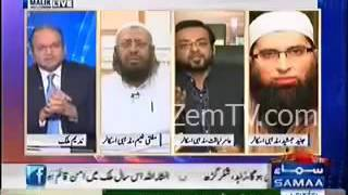 Clash Between Dr Amir Liaquat Hussain and Mufti Naeem and Junaid Jamsheed