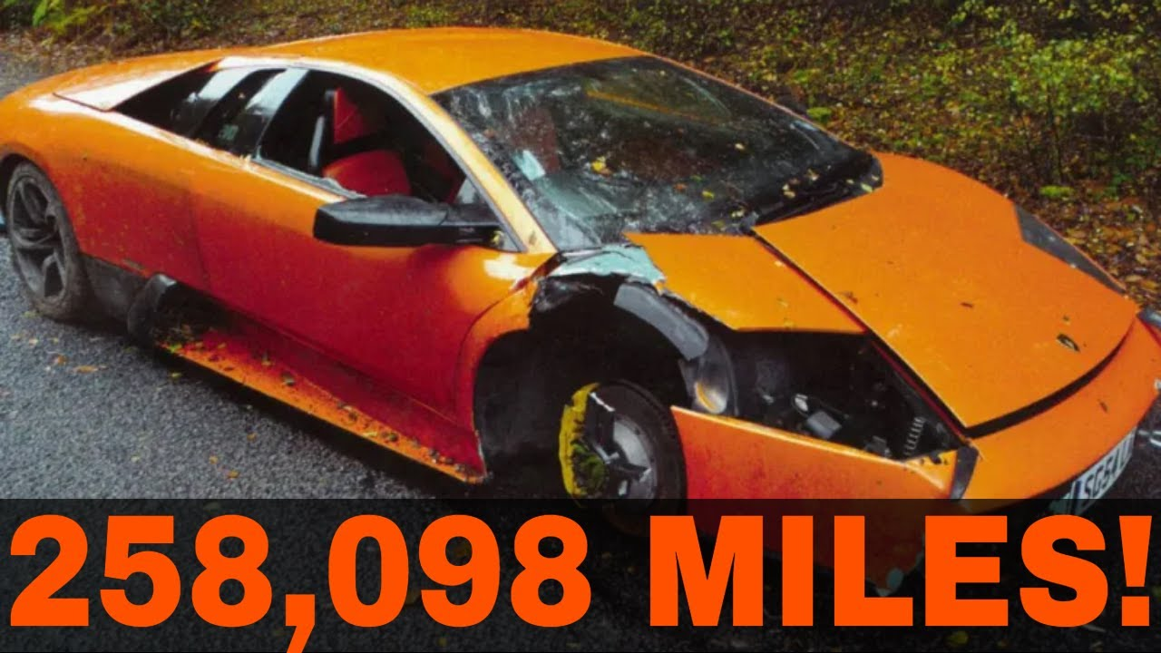 5 Extremely High Mileage Exotics And Super Cars