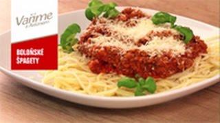 Vaříme s Astonem 05 - Boloňské špagety