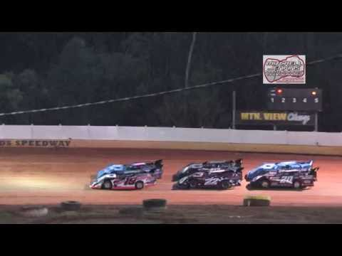 Boyds Speedway 3/25/16 Super/Steelhead Heat Race 1&2!