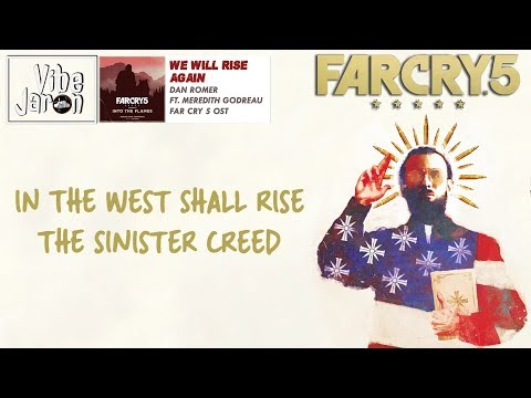 Dan Romer - We Will Rise Again (Lyrics) Ft. Meredith Godreau | Far Cry 5 End Credits Song/Soundtrack