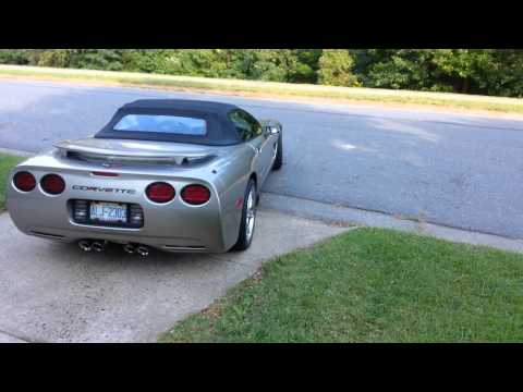 2000 corvette burnout